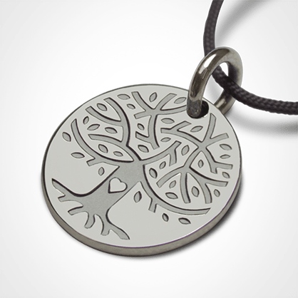 LOVETREE tree of life pendant in 925 sterling silver by the jewellery collection for children MIKADO.