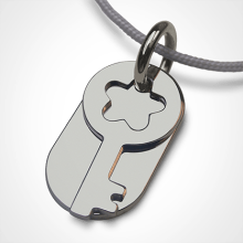 SESAME pendant in 925 sterling silver by the jewellery collection for children MIKADO.