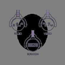 Gravure du pendentif mobile ENIGMA de la collection de bijoux pour enfants MIKADO.