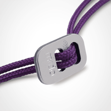White gold cord clasp for the pendants of the jewellery collection for children MIKADO.