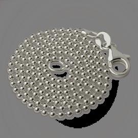 Cadena de bolas de plata de la colección de joyería infantil MIKADO.