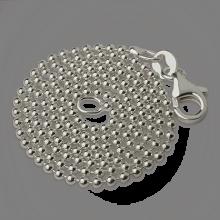 Chaîne boule en argent de la collection de bijoux pour enfants MIKADO.
