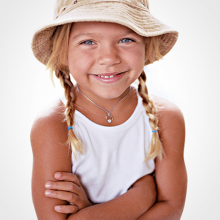 MOANA pendant by the jewellery collection for children MIKADO.