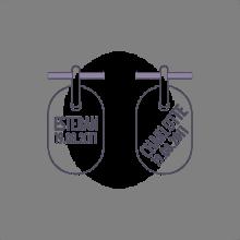 Typographie pour la gravure du pendentif de baptême AMEN de la collection de bijoux pour enfants MIKADO.