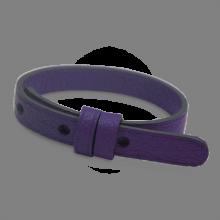 Bracelet cuir simple violet de la collection de bijoux pour enfants MIKADO.