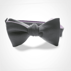 MIKADO's grey bow tie for children.