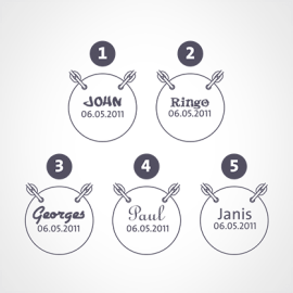 Gravure du collier LOVETREE de la collection de bijoux pour enfants MIKADO.