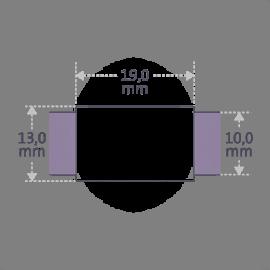 Dimensiones de la pulsera HIP HOP de la colección de joyería infantil de MIKADO.