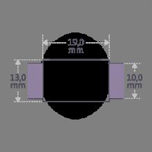 Dimensions du bracelet HIP HOP de la collection de bijoux pour enfants MIKADO.
