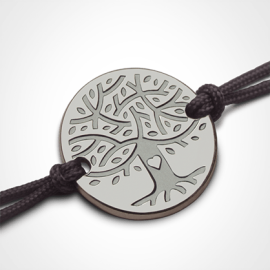 LOVETREE tree of life bracelet in 750 white gold by the jewellery collection for children MIKADO.