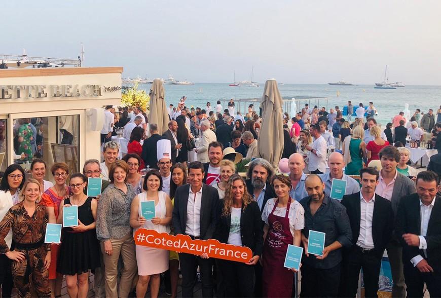 Soirée de lancement de la collection Côte d'Azur France 2019