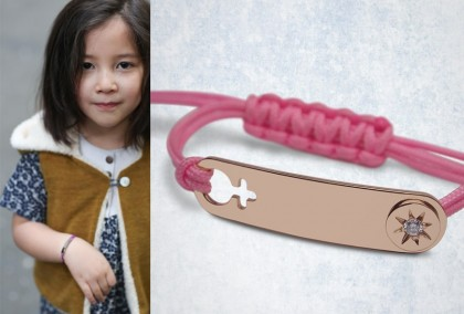THE BABY AND CHILD CHAIN BRACELET